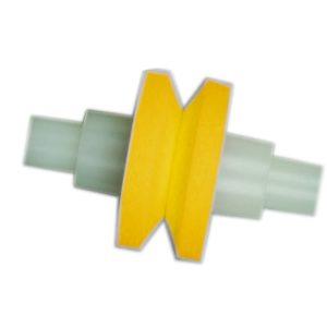 557 Ersatzrolle gelb / Schleifer 550/GB